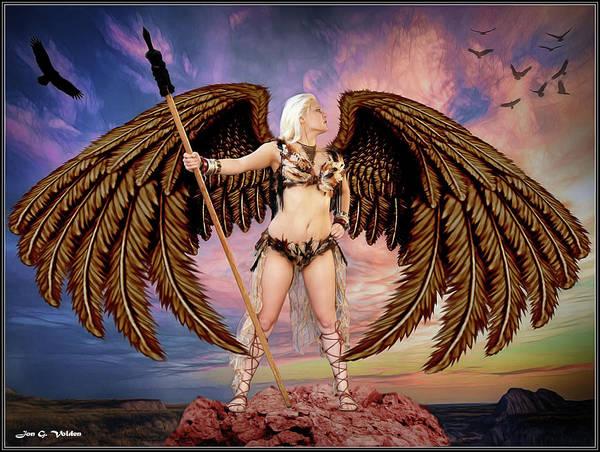 Photograph - The Queen Of Hawks by Jon Volden