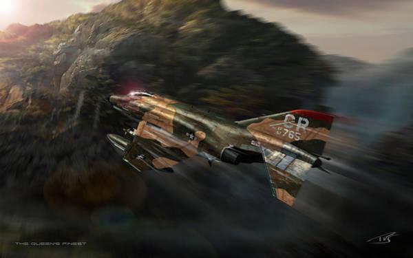 Cockpit Digital Art - The Queens Finest Two by Peter Van Stigt