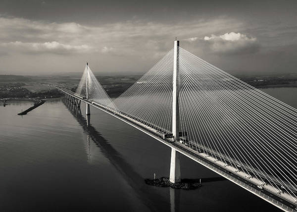 Wall Art - Photograph - The Queensferry Crossing by Dave Bowman