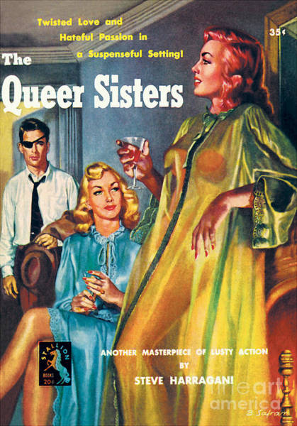 Painting - The Queer Sisters by Bernard Safran