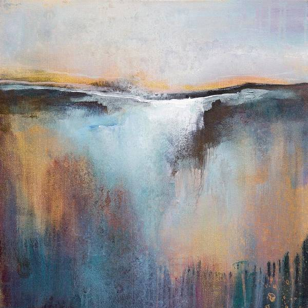 Wall Art - Painting - The Quiet Before Dawn by Karen Hale