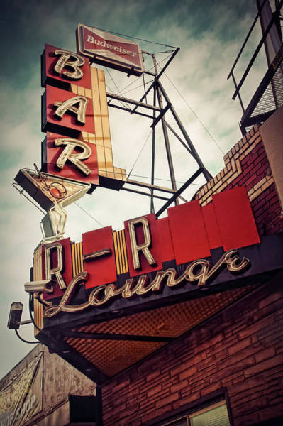 Photograph - The R-r Lounge by John De Bord