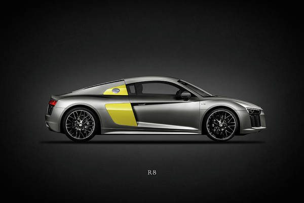 Super Cars Photograph - The R8 by Mark Rogan