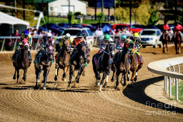 Photograph - The Race by Ed Taylor