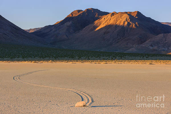 Racetrack Playa Photograph - The Racetrack In Death Valley National Park by Henk Meijer Photography