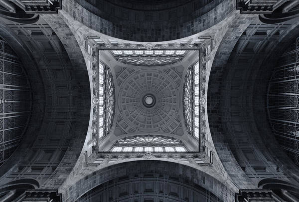 Antwerp Photograph - The Railroad Cathedral by Jeroen Van De Wiel