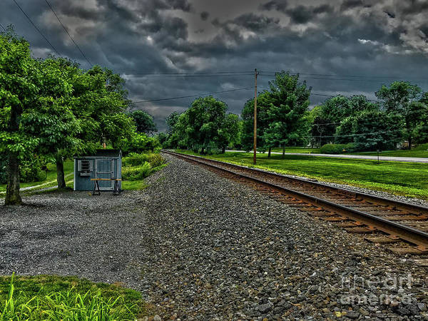 Photograph - The Rails by William Norton