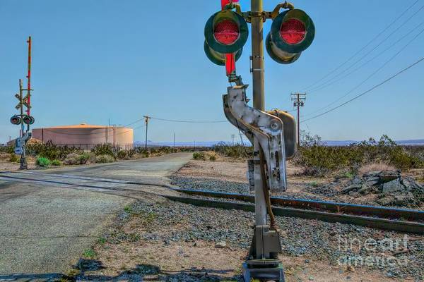 Photograph - The Railway Crossing by Joe Lach