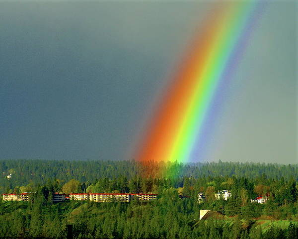Photograph - The Rainbow Apartments by Ben Upham III