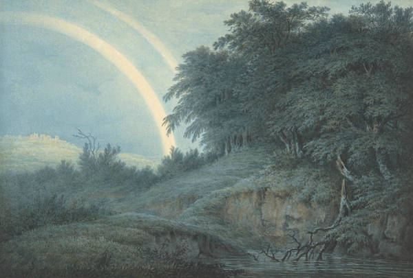 Drawing - The Rainbow by John Glover