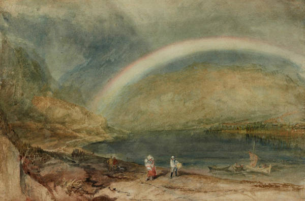 Painting - The Rainbow Osterspai And Filsen by Joseph Mallord William Turner