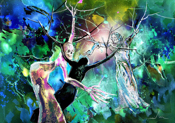 Painting - The Raising Of Lazarus by Miki De Goodaboom