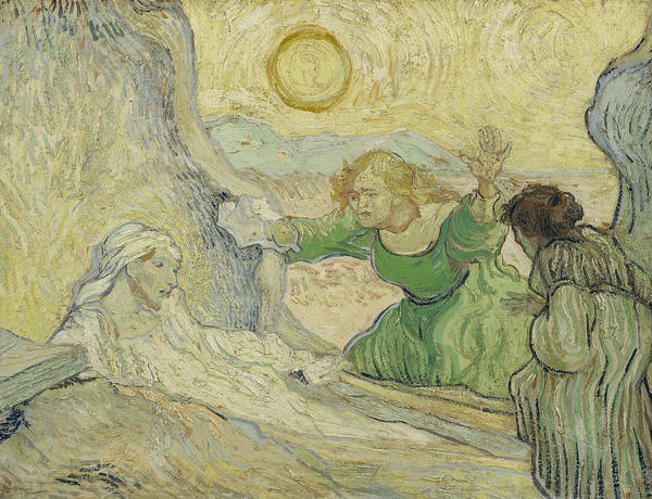 Painting - The Raising Of Lazarus by Vincent van Gogh