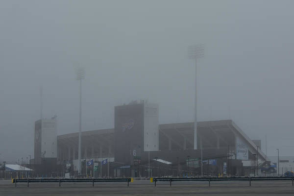 Photograph - The Ralph In The Fog by Guy Whiteley