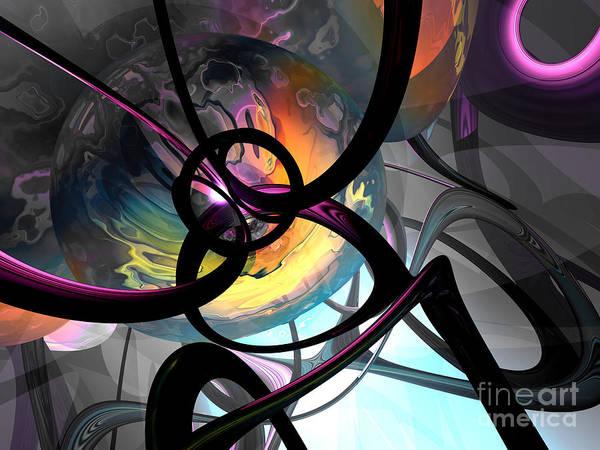 Wall Art - Digital Art - The Randomness Of It All Abstract by Alexander Butler