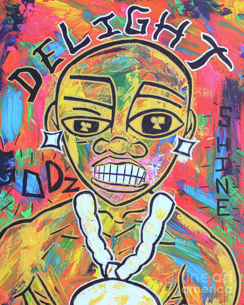The Rappers Delight  Art Print