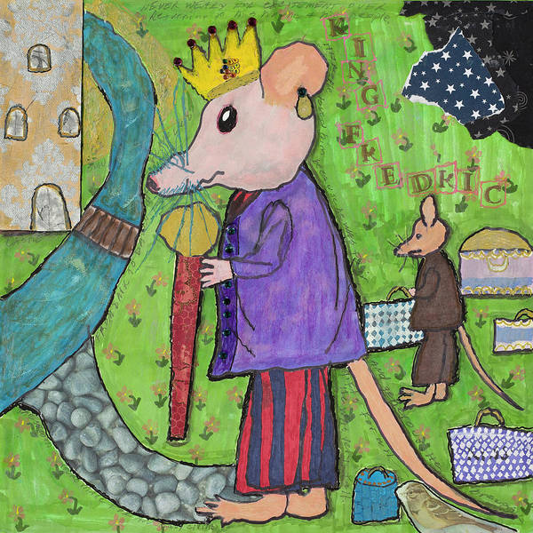 Mixed Media - The Rat King by Dawn Boswell Burke