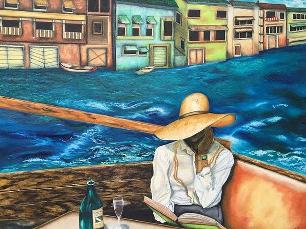 Wall Art - Painting - The Reader by Anaalu
