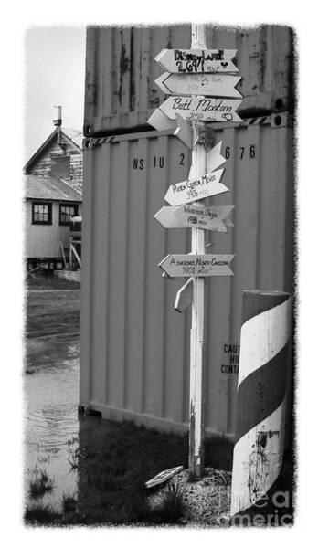 Photograph - The Real Alaska - Crossroads by Pete Hellmann
