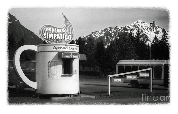 Photograph - The Real Alaska - Espresso by Pete Hellmann