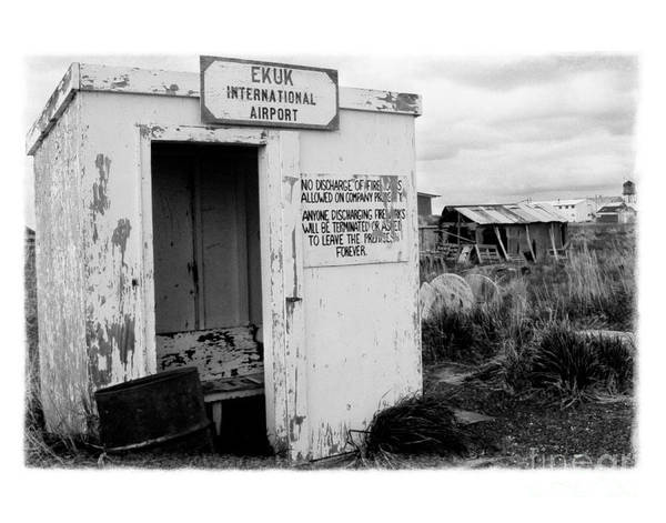 Photograph - The Real Alaska - Post 9-11 Security by Pete Hellmann