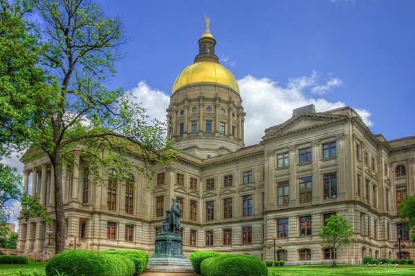 Photograph - The Real Powerhouse Georgia State Capital Art by Reid Callaway