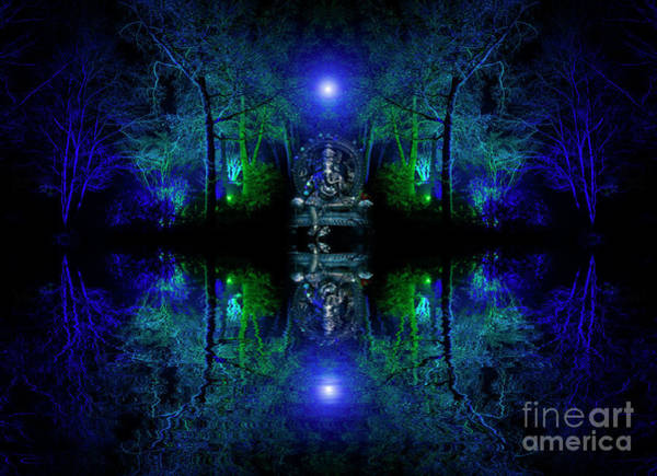Yogic Wall Art - Photograph - The Realm Of Ganesha by Tim Gainey