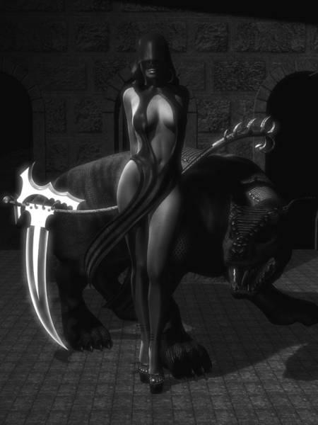 Cloak Digital Art - The Reaper by Alexander Butler