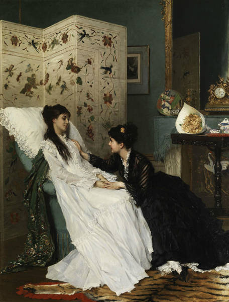 Painting - The Recovery by Gustave Leonard de Jonghe