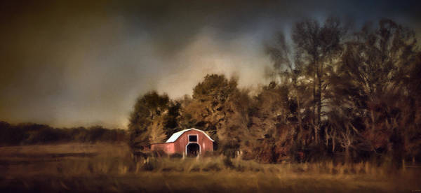 Photograph - The Red Barn Welcomes Autumn by Jai Johnson
