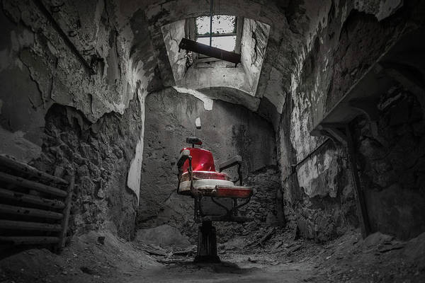 Eastern Photograph - The Red Chair by Kristopher Schoenleber