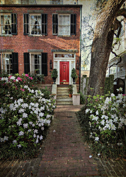 Photograph - The Red Door - 2 by Kim Hojnacki