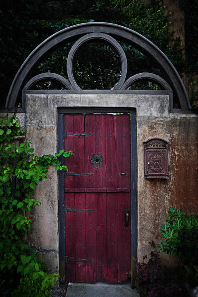 Wall Art - Photograph - The Red Door by Greg Waters