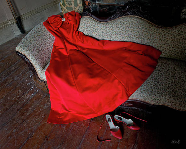 Photograph - The Red Dress by David Gordon