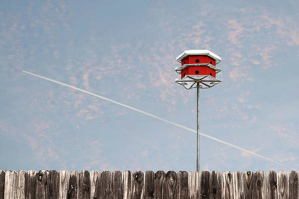 Photograph - The Red House by Scott Cordell
