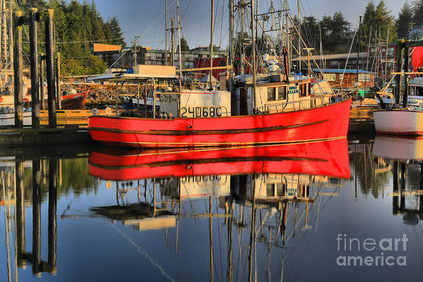 Port Of Vancouver Wall Art - Photograph - The Red One by Adam Jewell