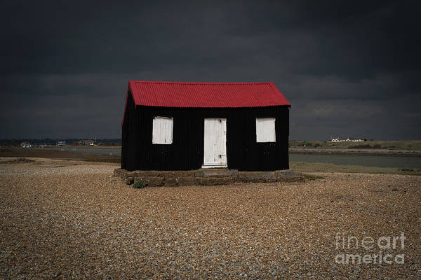 Photograph - The Red Roofed Hut by Perry Rodriguez