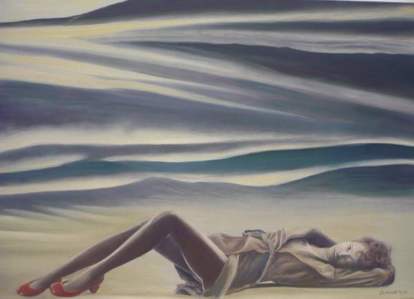 Painting - The Red Shoes by Caroline Philp