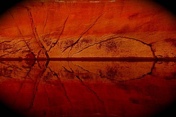 Spider Rock Photograph - The Red Spider by Angie Wingerd