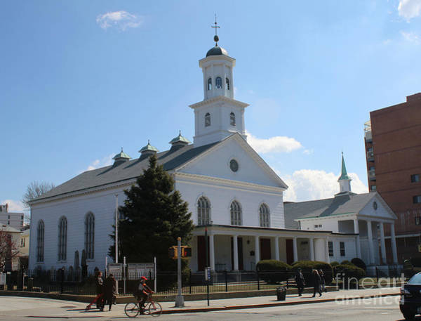 Photograph - The Reformed Church Of Newtown- by Steven Spak