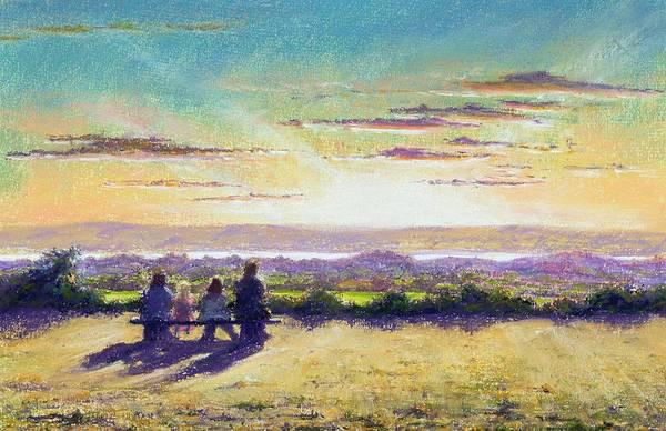 Togetherness Painting - The Remains Of The Day by Anthony Rule