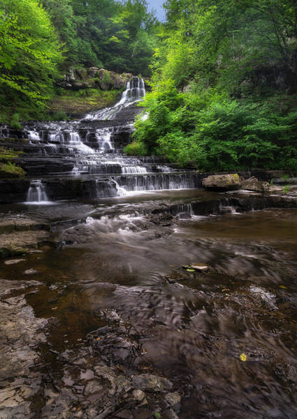 Wall Art - Photograph - The Rensselaerville Falls 2 by Mark Papke