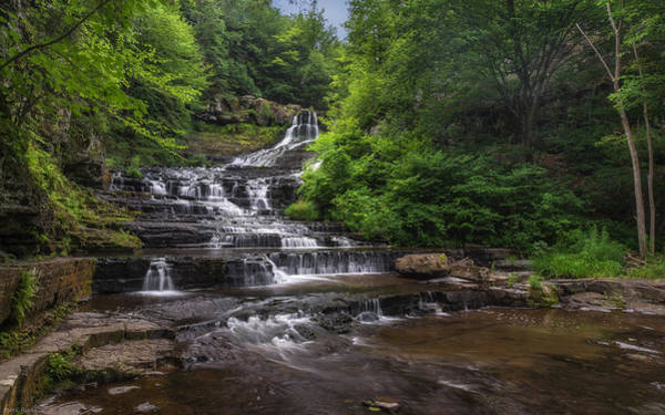 Wall Art - Photograph - The Rensselaerville Falls by Mark Papke
