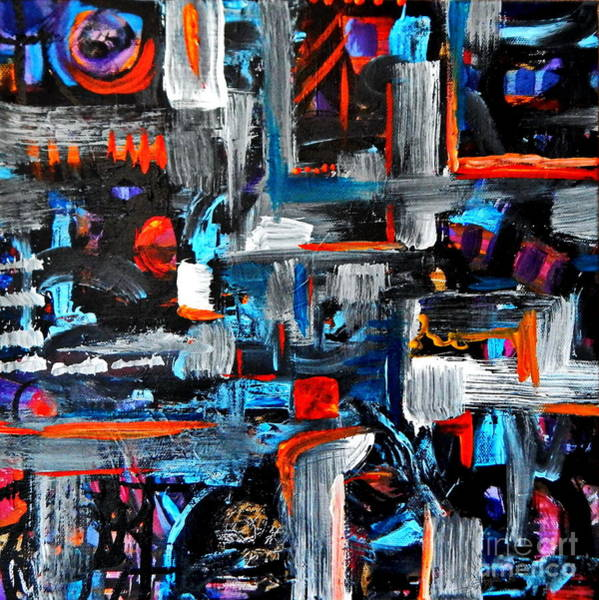 Dominate Painting - The Reprieve by Expressionistart studio Priscilla Batzell