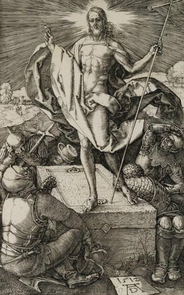 Albrecht Durer Wall Art - Relief - The Resurrection by Albrecht Durer