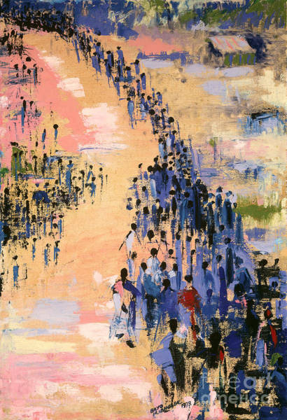 Marching Painting - The Return by Bayo Iribhogbe