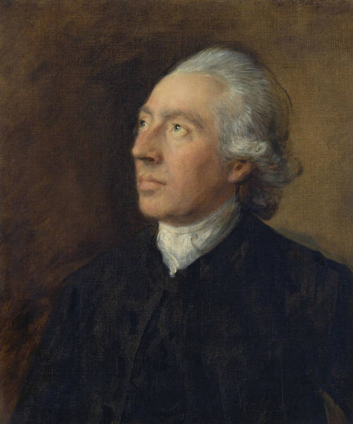 Painting - The Rev Humphry Gainsborough by Thomas Gainsborough