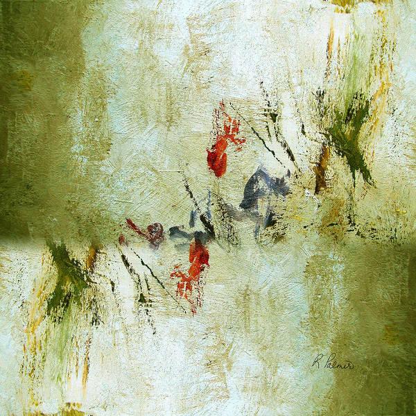 Irregular Painting - The Reversal by Ruth Palmer