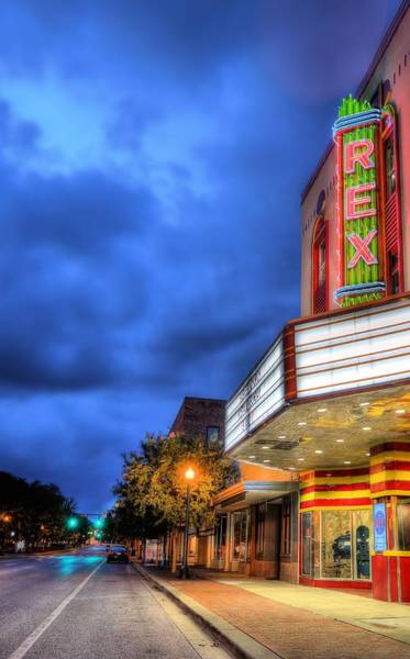 Wall Art - Photograph - The Rex Theater by JC Findley