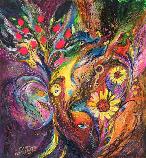Wall Art - Painting - The Rhapsody Of Love by Elena Kotliarker
